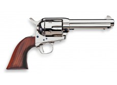 1873 CATTLEMAN 9MM A BLANC FINITION NICKELE