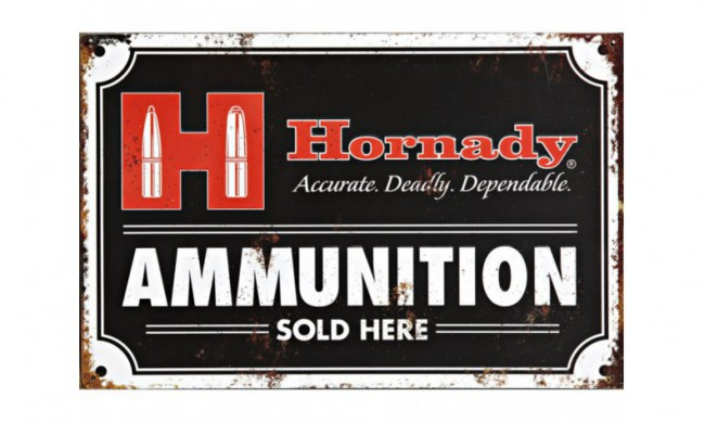 PLAQUE AMMUNITION SOLD HERE