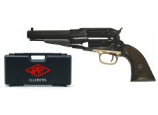 EXCLU - 1858 REMINGTON NEW MODEL ARMY SHERIFF + VALISE PIETTA + QUEUE D'ARONDE