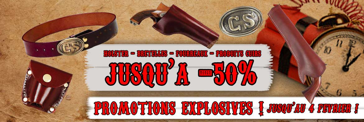 Promotions holsters cuir